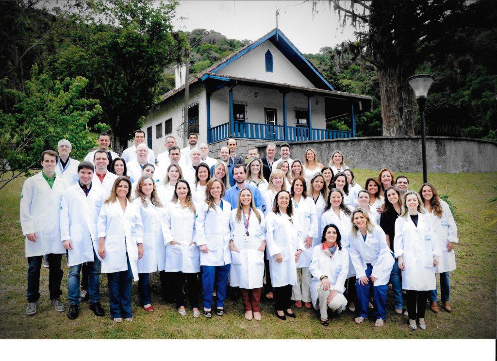 Nossa turma de endoscopia ginecológica de 2012